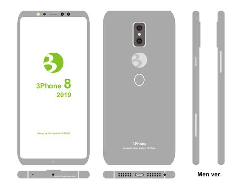 Tôi ước Bphone 3 có thiết kế như này.