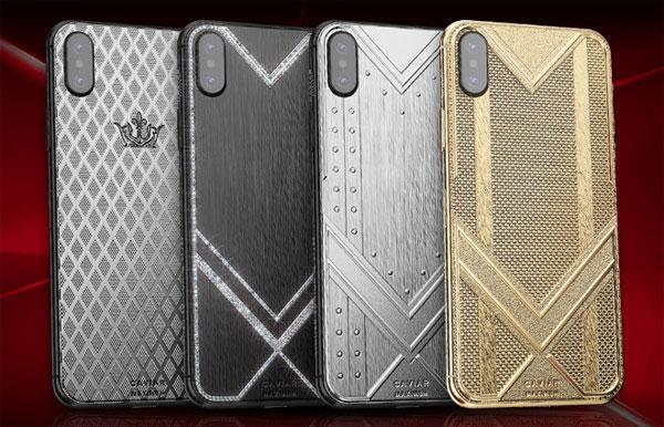iPhone XS Max vỏ vàng nguyên chất