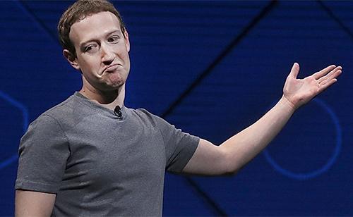 Facebook của Mark Zuckerberg tiếp tục gặp hạn trong năm 2018.
