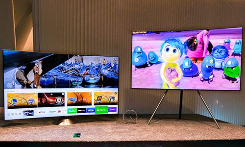 Samsung và LG chiếm gần một nửa thị phần TV toàn cầu.