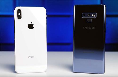 iPhone Xs cải tiến so với thế hệ trước nhưng Consumer Reports cho rằng nó chưa bằng Note9.