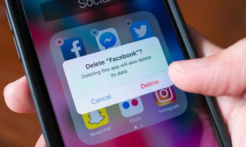 Trung bình cứ bốn người Mỹ tham gia khảo sát của Pew thì có một người đã xóa ứng dụng Facebook.