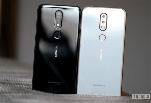 Hai màu của Nokia 7.1. Ảnh: AndroidAuthority