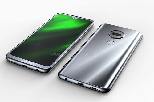 Moto G7 có màn hình giống Oppo F9.