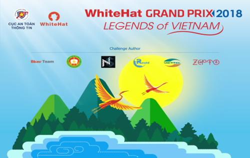 Chủ đề WhiteHat Grand Prix 2018 là Truyền thuyết Việt Nam.