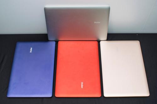 Notebook Haier có nhiều màu sắc đa dạng..