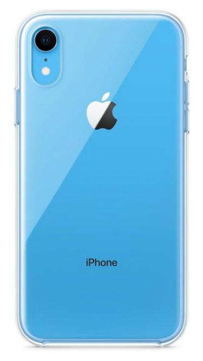 Hình ảnh rò rỉ về ốp lưng trong suốt cho iPhone Xr.