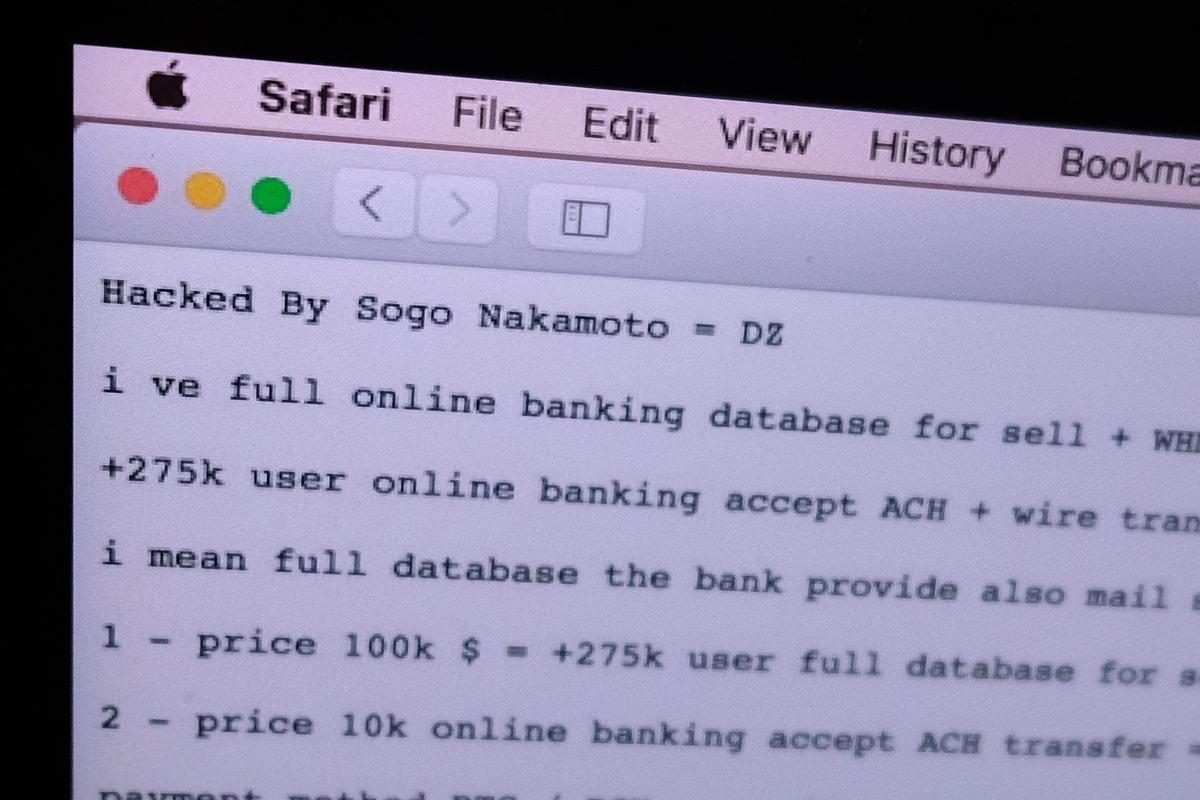 Website ngân hàng Hợp tác xã Việt Nam bị tấn công đòi tiền