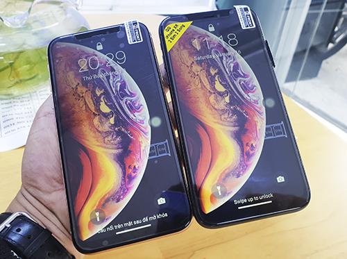 iPhone Xr nhái có ngoại hình tương tự bản thật.