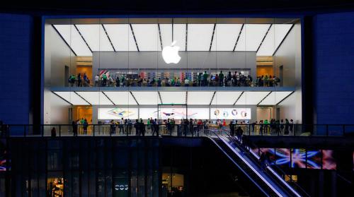 Apple Store tại Quảng Châu, Trung Quốc. Ảnh: MoneyToday