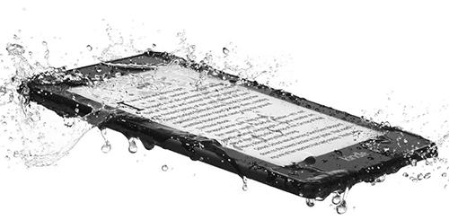 Kindle Paperwhite mới đạt chuẩn chống nước IPX8.