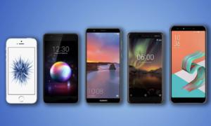 Smartphone bán chạy tháng 9 - Note9 là đại diện cao cấp duy nhất