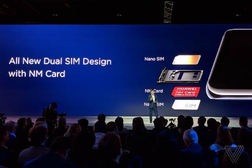 Nano Memory bằng với Nano Sim và nhỏ hơn 45% microSD.