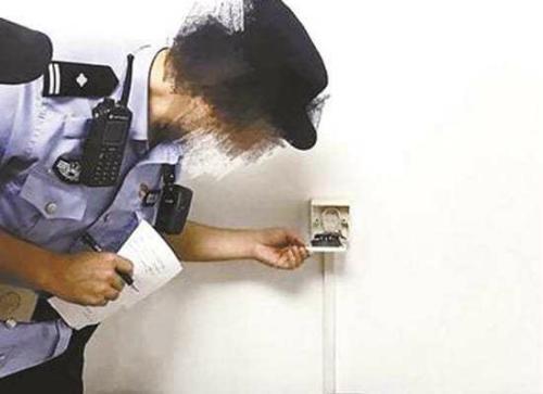Camera quay lén giấu nửa năm trong ổ điện ở Trung Quốc - 1