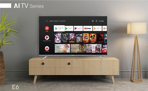Dòng sản phẩm TV AI E6 của Skyworth được nhà sản xuất kỳ vọng là bước đầu tiên tiến vào thị trường tivi thông minh tại Việt Nam.
