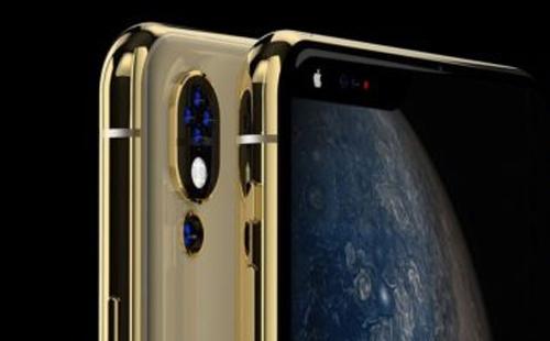 Apple Phone còn được trang bị tới 4 camera ở phía sau, gọi là Apple Quadra+