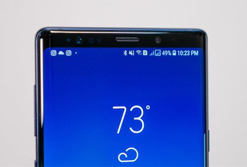 Samsung muốn giải bài toàn giấu camera và các cảm biến trước mà không cần tới cơ chế trượt.