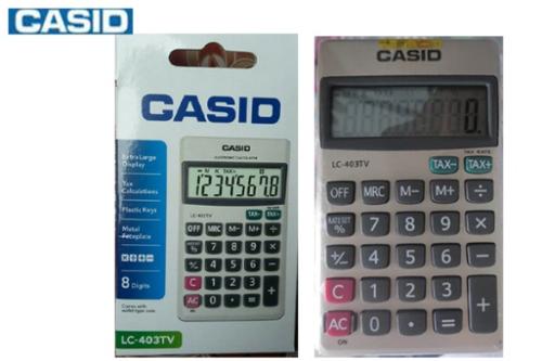 Các dạng làm giả, nhái máy tính Casio - 2