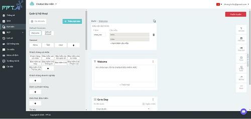 FPT.AI cập nhật nhiều tính năng cho nền tảng xây dựng chatbot