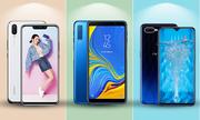 Galaxy A7 2018 'đọ sức' cùng Oppo F9 và Huawei Nova 3i