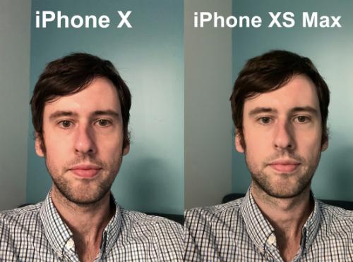 Việc làm mịn da khi chụp ảnh selfie là lỗi phần mềm trên iPhone XS, XS Max hay XR và sẽ được Apple khắc phục trên iOS 12.1.