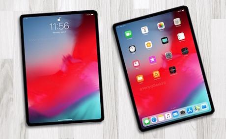 iPad Pro 2018 với viền siêu mỏng sẽ là tâm điểm sự kiện.