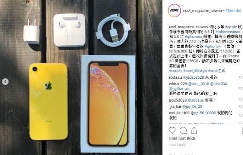 Những chiếc iPhone Xr đầu tiên đã được đập hộp.