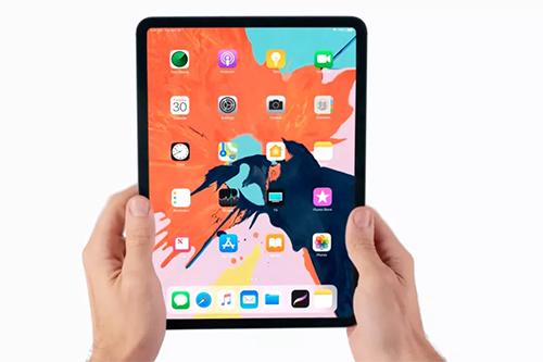 iPad Pro mới có viền màn hình siêu mỏng.