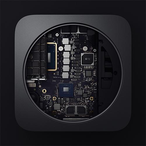 Apple cũng trang bị chip T2 trên Mac Mini.