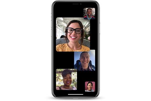 iOS 12.1 bổ sung tính năng FaceTime nhóm.