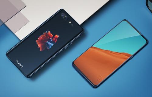 Nubia X có màn hình viền siêu mỏng ở mặt trước và có thêm một màn hình phụ 5,1 inch ở mặt lưng.