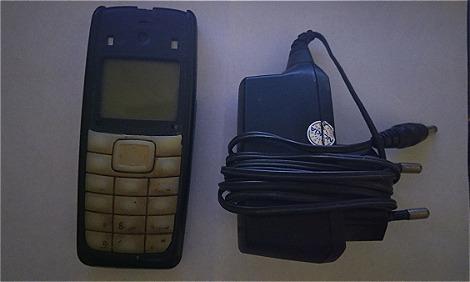 Chiếc điện thoại đầu tiên của độc giả Nguyên Ngọc.