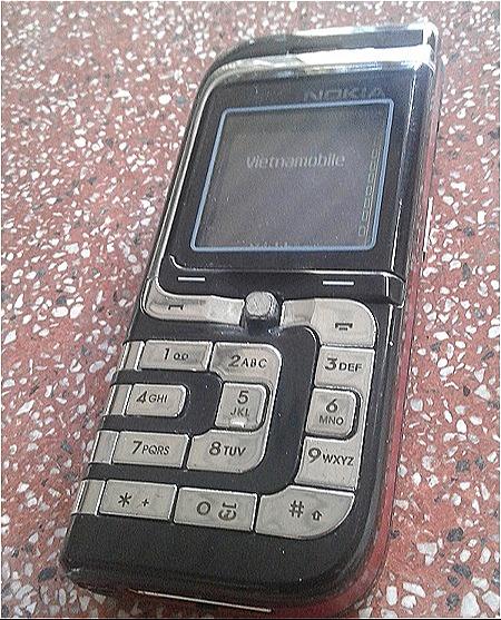 Chiếc Nokia 7260 đầu tiên của độc giả Chí Tâm.