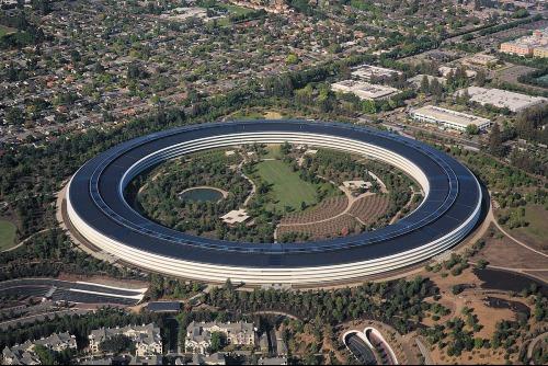 Trụ sở các công ty công nghệ Mỹ thành điểm du lịch - 1