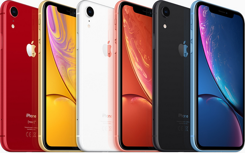iPhone XR có tới 6 màu sắc.