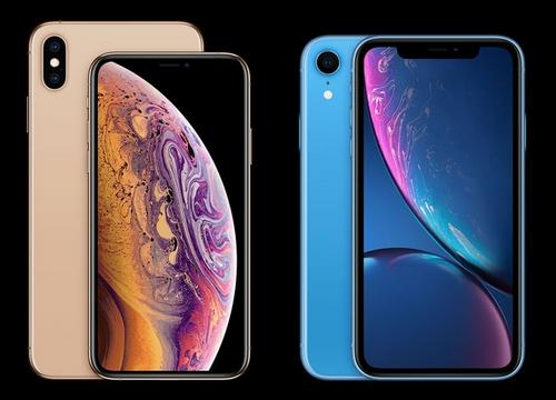 iPhone XS Max (bên trái) được đánh giá là có thiết kế sang trọng hơn XR (bên phải).