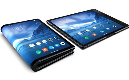 Royole ghi dấu ấn là công ty đầu tiên bán ra smartphone màn hình gập.