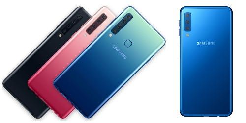 Galaxy A9 (trái) và Galaxy A7 (phải) tạo làn gió mới trong thị trường smartphone.