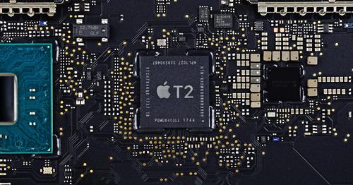 Chip T2 giúp tăng cường bảo mật cho máy Mac đời mới.