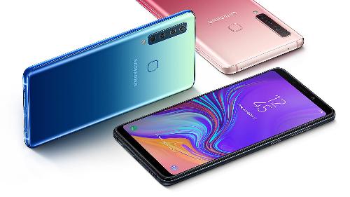 Công nghệ anodising tạo nên màu sắc nổi bật và độ bền cho khung kim loại của Galaxy A9.
