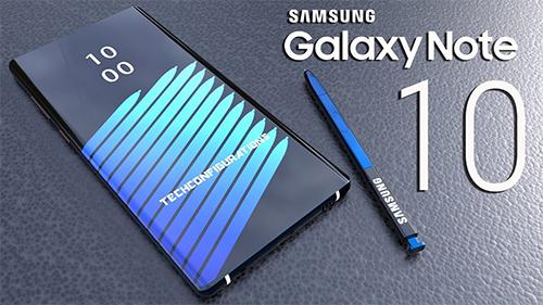Galaxy Note10 được dự đoán sẽ có màn hình 6,66 inch.
