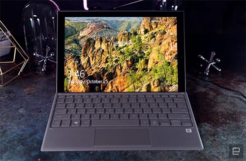 Các máy tính Windows chạy chip ARM có ưu điểm về pin và tính di động. Ảnh: Engadget.