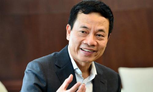 Bộ trưởng Thông tin và Truyền thông Nguyễn Mạnh Hùng nhận định Việt Nam có cơ hội bứt phá về IoT nếu đột phá về tư duy. Ảnh: Bộ TT&TT
