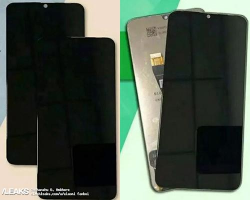 Ảnh được cho là Galaxy A8s với màn hình Infinity-O. Ảnh: Leaks.