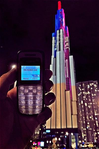 Chiếc Nokia 1200 đầu tiên của độc giả Hùng Phương.