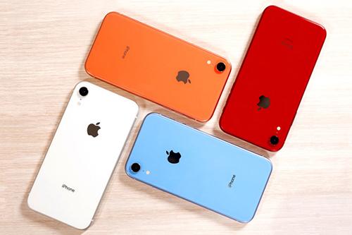 iPhone XR không đạt doanh số như Apple kỳ vọng. Ảnh: CR.