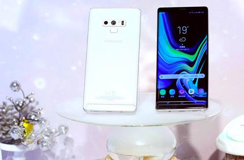 Galaxy Note9 màu trắng Snow White vừa ra mắt.