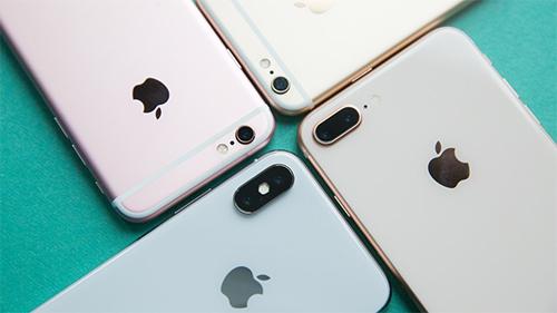 Apple chấp nhận thu mua modle cũ nhất là iPhone 6 cùng sản phẩm từ nhiều hãng đối thủ.