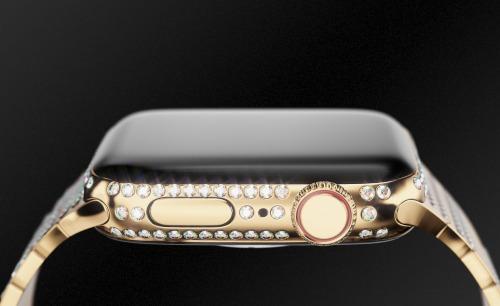 Apple Watch series 4 phiên bản White Caviar.