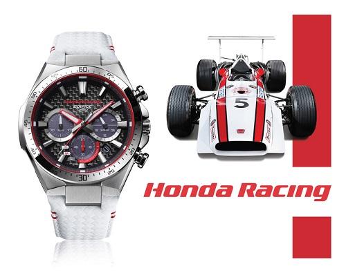 EQS-800HR sử dụng màu trắng và đỏ chủ đạo của Honda Racing.